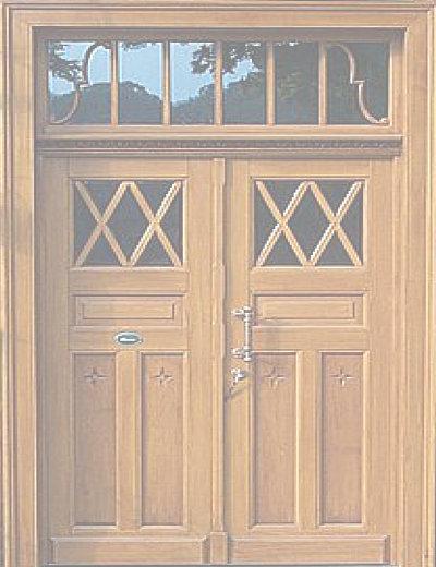Infohaus Badbergen - Bild Tür