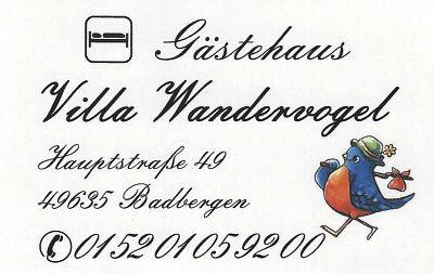 Infohaus Badbergen - Visitenkarte Villa Wandervogel