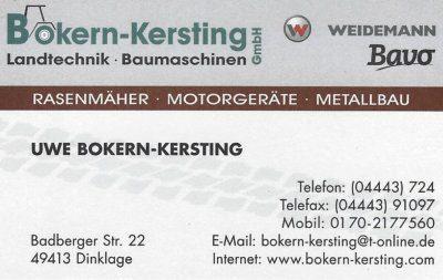 Infohaus Badbergen - Visitenkarte Uwe Bokern-Kersting