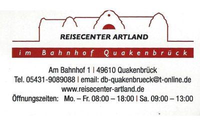 Infohaus Badbergen - Visitenkarte Reisecenter Artland
