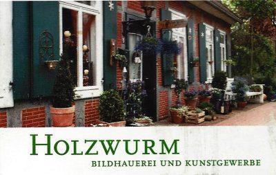 Infohaus Badbergen - Visitenkarte Holzwurm Menslage