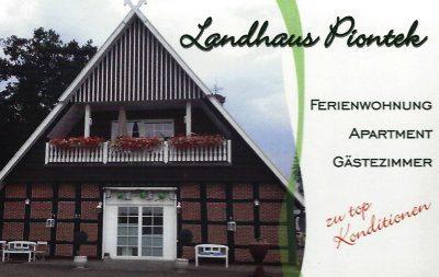 Infohaus Badbergen - Visitenkarte Landhaus Piontek