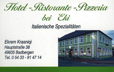 Infohaus Badbergen - Visitenkarte bei Eki