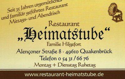 Infohaus Badbergen - Visitenkarte Heimatstube Quakenbrück