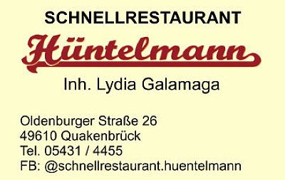 Infohaus Badbergen - Visitenkarte Hüntelmann Lydia Galamaga