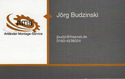 Infohaus Badbergen - Visitenkarte Jörg Budzinski